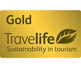 Travelife Gold Sustainability in tourism