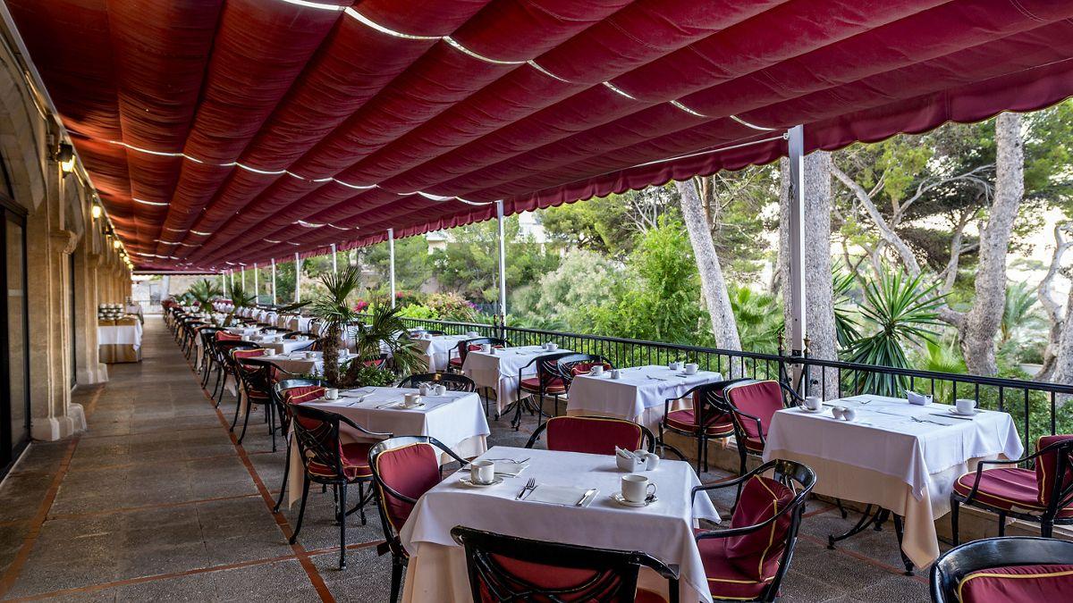 Secrets Mallorca Villamil Cafe