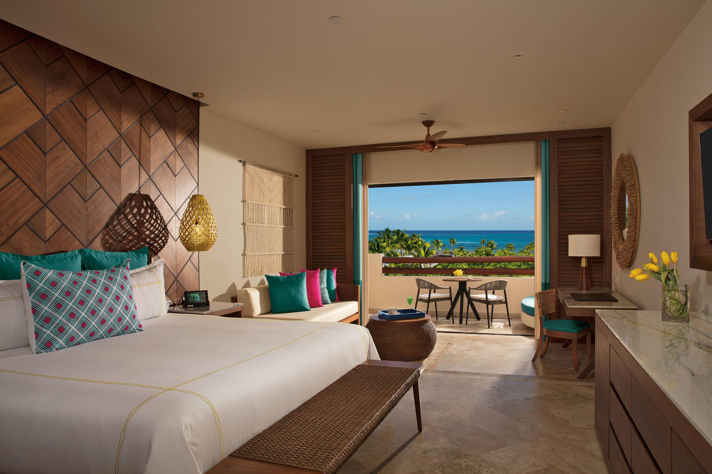 luxury resort suite